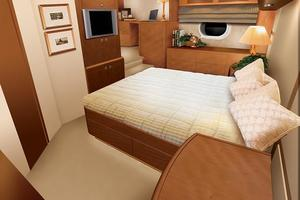 64' Hatteras 64 Convertible 2006 Manufacturer Provided Image: Master Stateroom