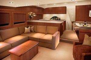 64' Hatteras 64 Convertible 2006 Manufacturer Provided Image: Salon