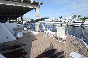 87' Oceanfast 87 2000 Bridge Aft Deck
