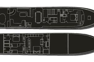 108' Cyrus Yachts  2007 GA Plans