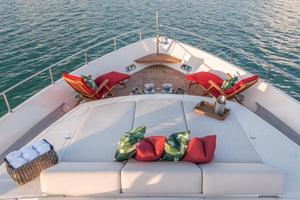 94' Ferretti Yachts  2004 Foredeck