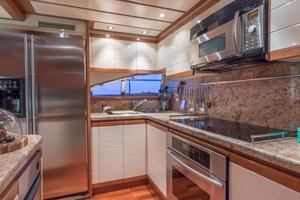 94' Ferretti Yachts  2004 Galley