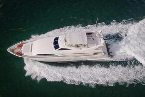 94' Ferretti Yachts  2004 Bird's Eye View
