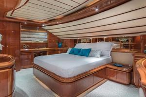 94' Ferretti Yachts  2004 Master Stateroom