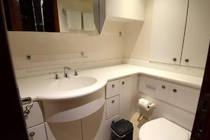 105' Intermarine  2000 Crew Bathroom