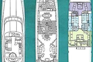 105' Intermarine  2000 GA Plans
