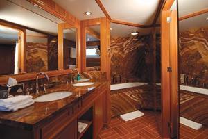 159' Feadship  1987 Guest Bathroom