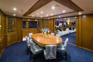 159' Feadship  1987 Dining