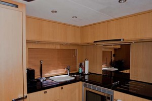 62' Princess V62 2011 Galley