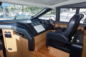 62' Princess V62 2011 Bridge Deck