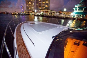 62' Princess V62 2011 Port Side Deck