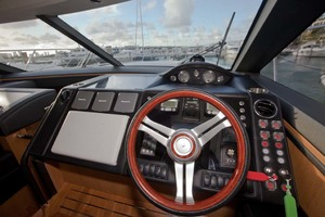 62' Princess V62 2011 Helm Station