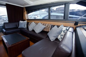 62' Princess V62 2011 Saloon Seating