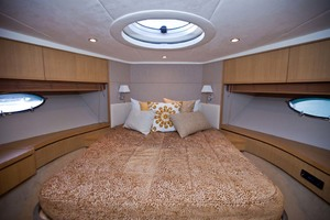 62' Princess V62 2011 Forward Guest Stateroom