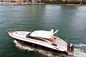 62' Princess V62 2011 Port View