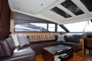 62' Princess V62 2011 Bridge Deck Port
