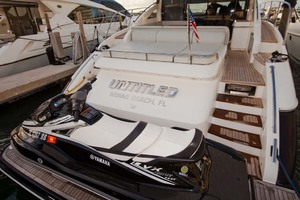 62' Princess V62 2011 Stern View