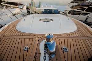 62' Princess V62 2011 Foredeck and Windlass