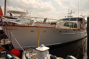 58' Trumpy motor yacht 1970 Barbra Joan
