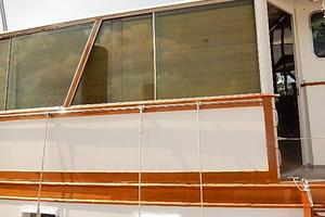 58' Trumpy motor yacht 1970 Hard enclosed aft deck