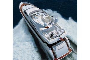88' Ferretti Yachts 881 2006 Manufacturer Provided Image: Above