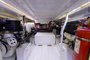48' Maverick Sportyacht 2015 Engine Room