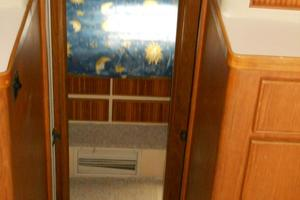 37' Bertram 37 Convertible 1989 Companionway to Staterooms