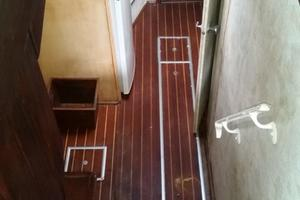 42' Post 42 Sportfish 1975 Companionway to Galley and Staterooms