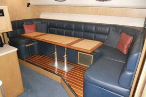 40' Tiara 4000 Express 1999 Starboard Salon w/ convertible dinette