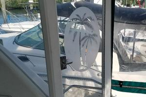40' Carver 400 Cockpit Motor Yacht 1996 Wing Doors Port and Starboard
