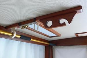 42' Hatteras Convertible Sportfish 1977 Overhead storage