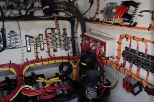39' Concept Boats 3900 CC 2014 Port Wiring