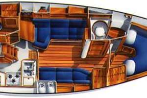 37' Island Packet 37 1996 Manufacturer Provided Image