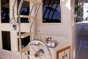 54' Offshore Yachts Pilothouse 2019 Aft Helm Station