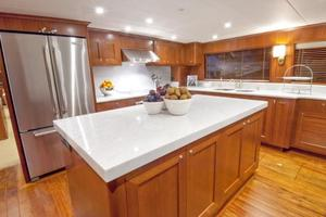 90' Offshore Yachts 80/85/90 Voyager 2019 Galley