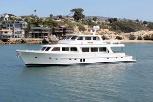 90' Offshore Yachts 80/85/90 Voyager 2019 Profile