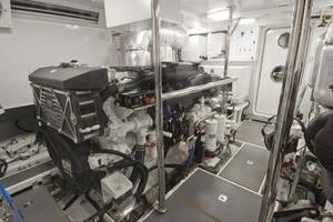 90' Offshore Yachts 80/85/90 Voyager 2019 Engine Room