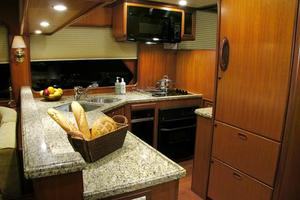 72' Offshore Yachts 66/72 Pilothouse 2019 Galley