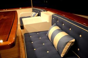 72' Offshore Yachts 66/72 Pilothouse 2019 Cal Deck Settee