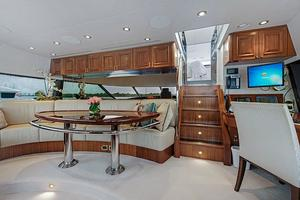 112' Westport Westport 112 2012 Pilothouse Seating