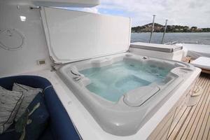108' Johnson 108 FB Custom 2016 Flybridge Hot Tub