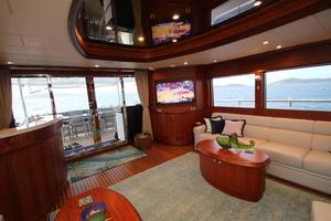 108' Johnson 108 FB Custom 2016 Salon Aft to Starboard