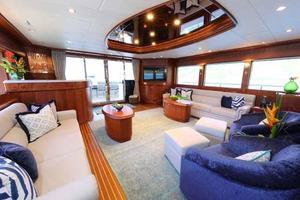 108' Johnson 108 FB Custom 2016 Salon Aft to Port