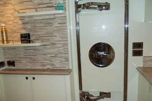 108' Johnson 108 FB Custom 2016 Galley Side Deck Door