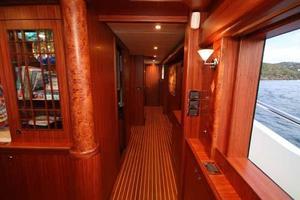 108' Johnson 108 FB Custom 2016 Main Deck Companionway Looking Forward