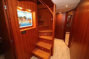 108' Johnson 108 FB Custom 2016 Lower Deck Companionway