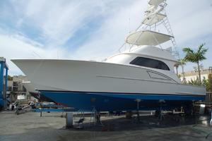 47' Cape Fear Custom Carolina Sportfish 2000 past boatyard visit photo (2016)