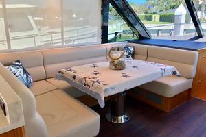 57' Riviera 57 Enclosed Flybridge- Available Now! 2017 Riviera57EnclosedFlybridgeDinette