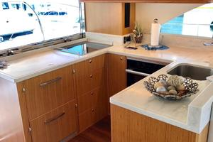 57' Riviera 57 Enclosed Flybridge- AVAILABLE NOW! 2017 Riviera 57 Enclosed Flybridge Galley