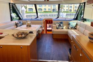 57' Riviera 57 Enclosed Flybridge- Available Now! 2017 Riviera57EnclosedFlybridgeSalon